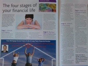 Four stages of financial life