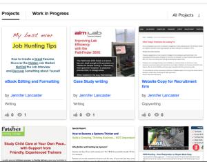 article writing portfolio