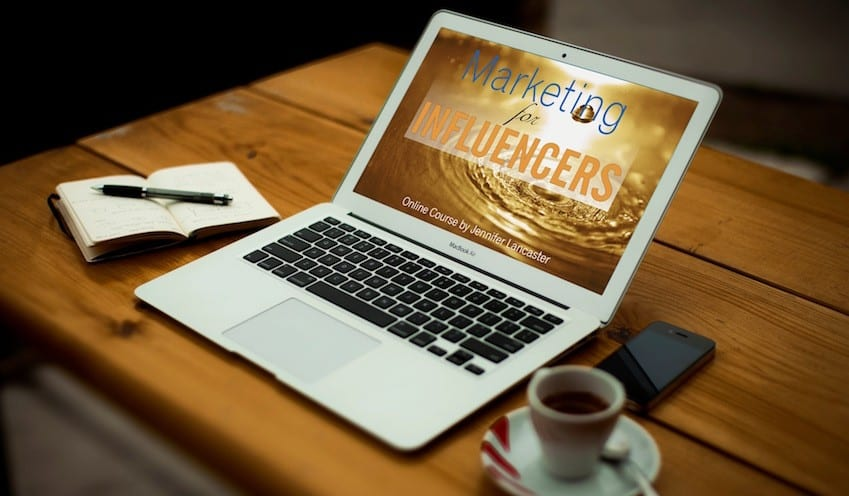 Marketing for influencers course