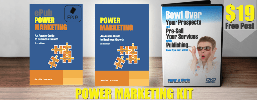 business marketing kit