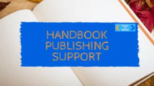 handbook publishing support