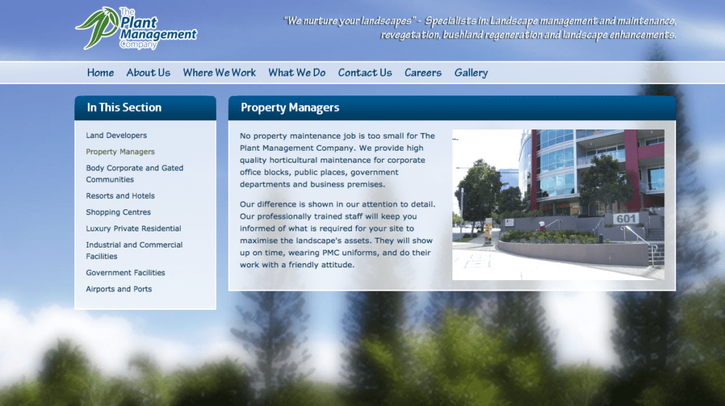 Copy Editing of Horticultural Services Website