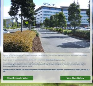 web copywriting for plant mgt company