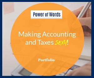 Accountants website copy