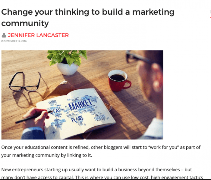 changing thinking article