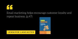 email marketing encourages customer loyalty