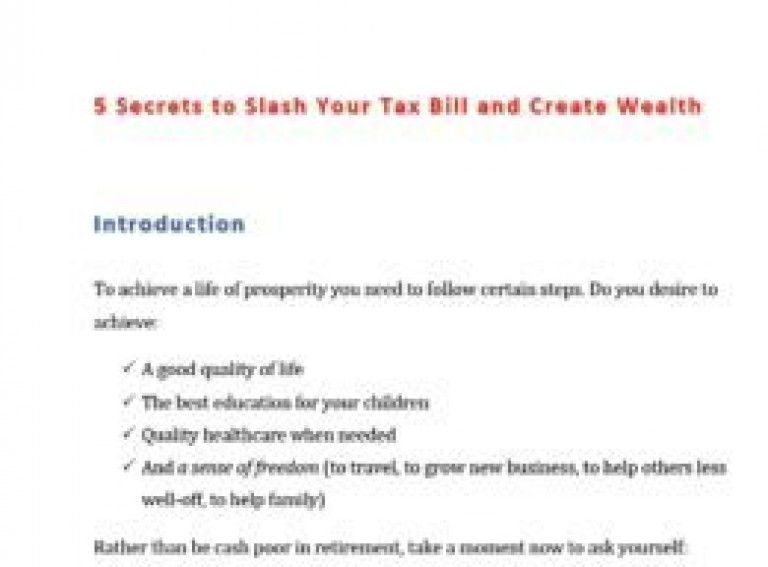 5-Secrets-to-Slash-Your-Tax