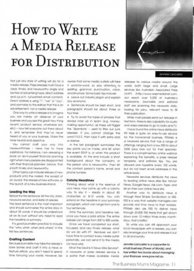 MediaRelease_article_2009